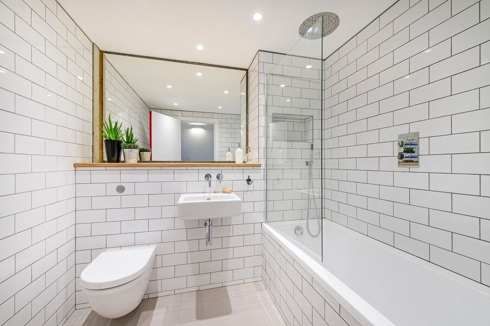 Home decor pictures bathrooms with subway