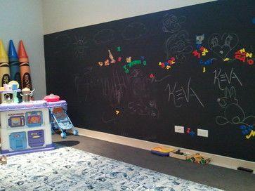 Elegant Kreidetafel Im Kinderzimmer