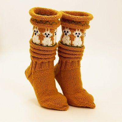 ull.no fjell sokken | Påskesokken - oppskrift | Ull.no