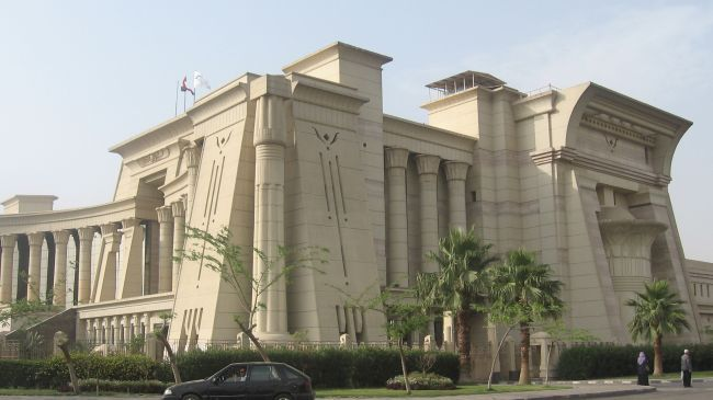 Constitutional Court In Egypt Ancient Egyptian Revival Architecture