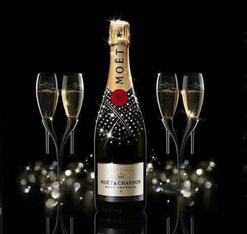 Edition Swarovski Botellas de champagne, Licor, Tragos