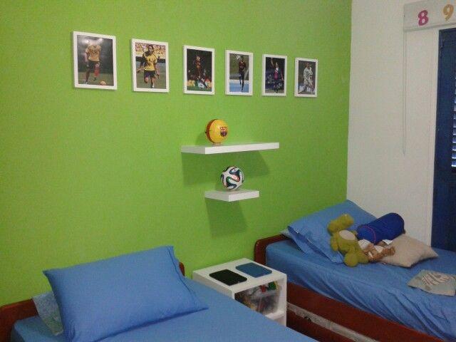 Cuarto niños. Boys room. #futbol | Bedroom \'s baby