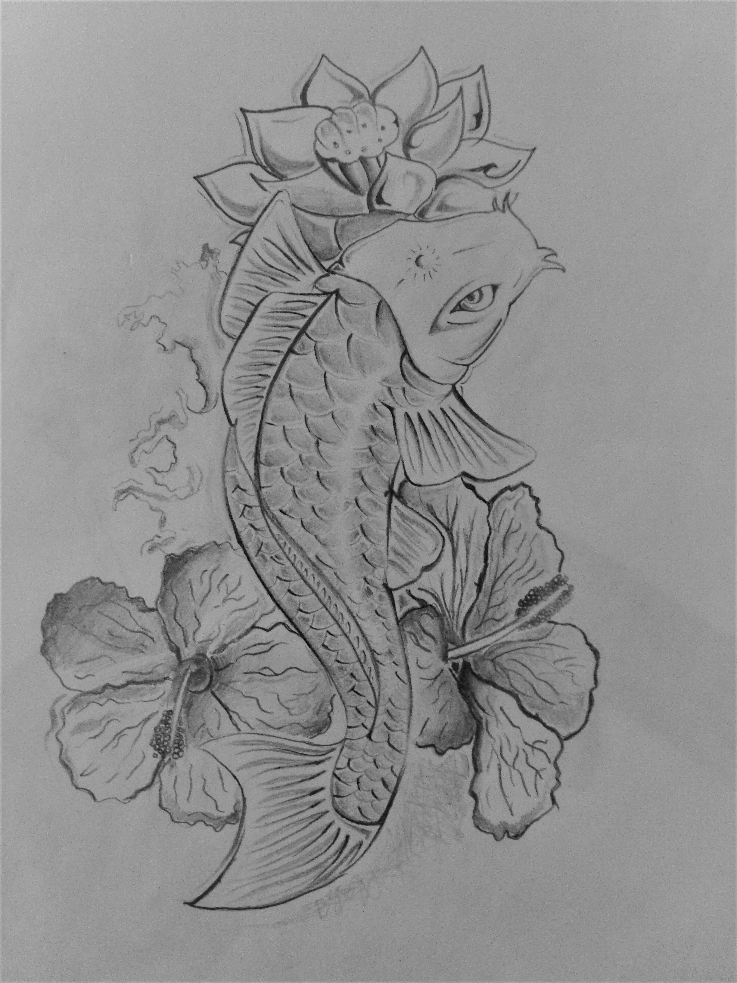 Pez Koi Y Flor De Loto 2015 Tattoo Koi Asian Tattoos Art