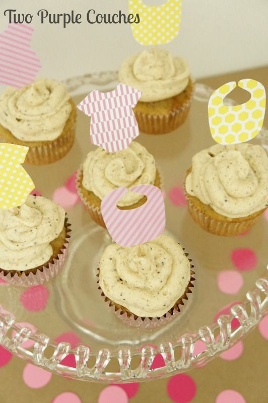 Baby Shower Cupcakes Idea