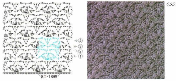fleur de lis crochet pattern | Ganchillo/Crochet | Pinterest ...