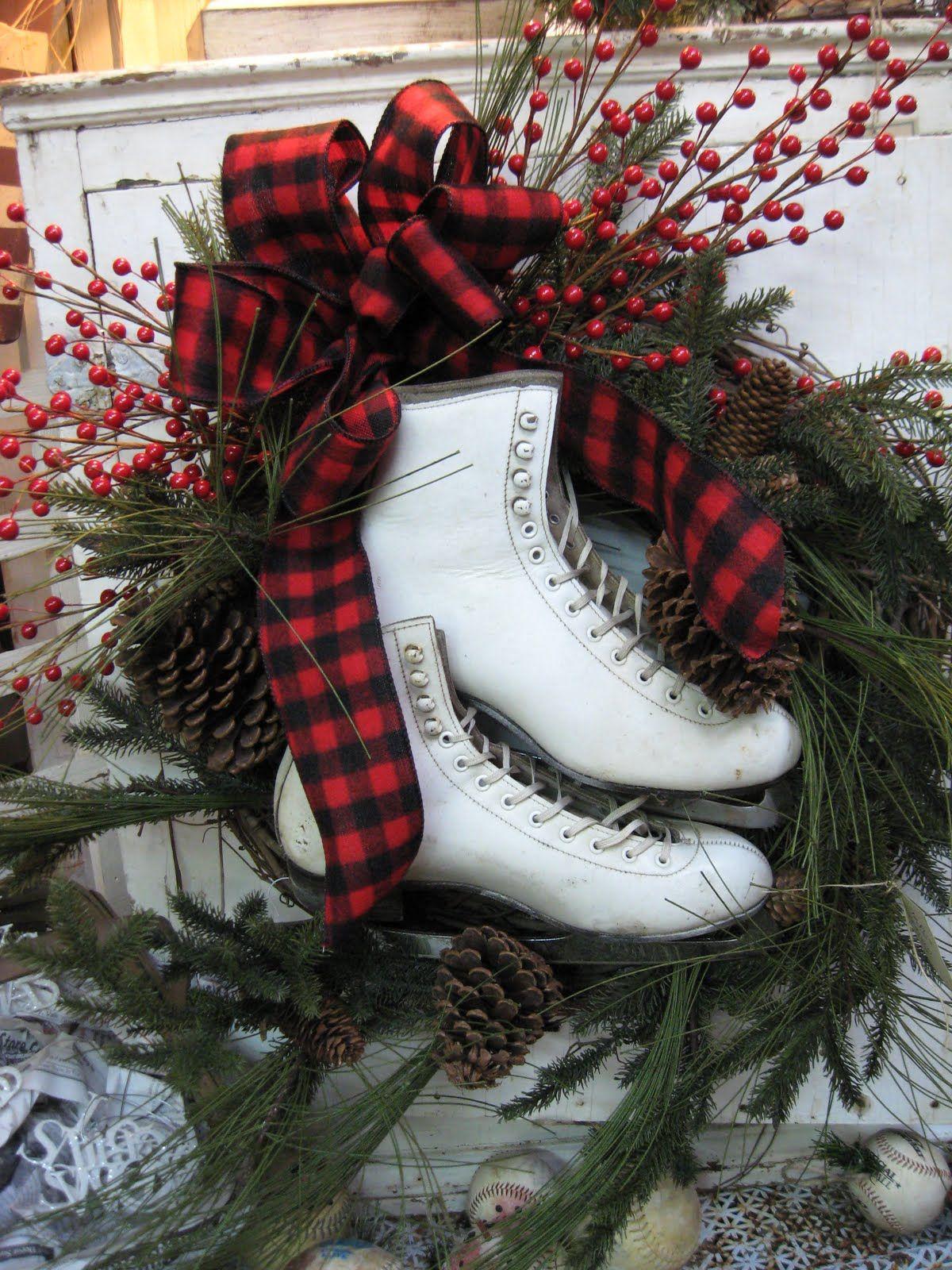 Originales ideas para decorar en navidad christmas ideas pinterest wreaths tossed and - Ideas originales para decorar en navidad ...