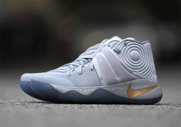 "new product c60b9 890fd Nike Kyrie 2 ""Battle Grey"" 