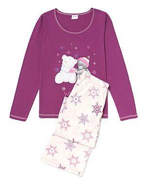 Tatty Teddy Fleece Pyjamas (With images) | Fleece pajamas