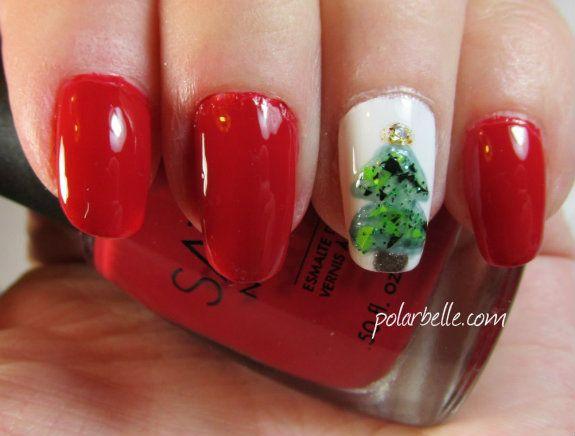 Sation I Love Yule Nail Polish Christmas Holiday Nail Art Manicure