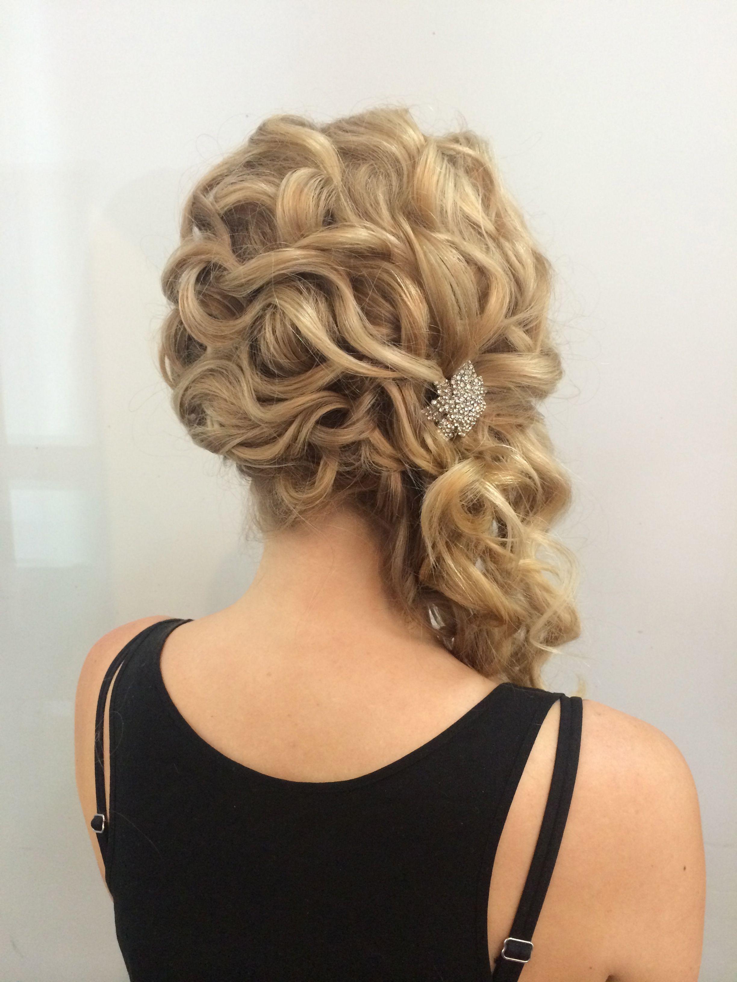 high detail pinned upstyle #bride #bridalhair #upstyle #updo #salon #hair #bridalhair # ...
