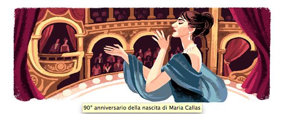 Maria Callas - Google Italia - 2/12/2013