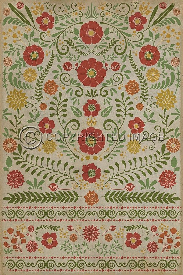 cloths floors floorcloth vinyl flooring colors floor slip retro checkered vintage checked non cloth