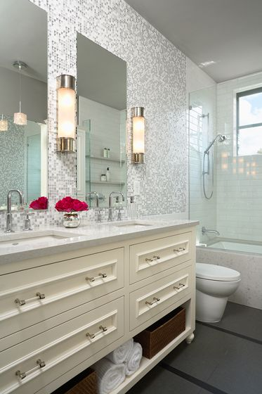 Portfolio Fiddlehead Design Group Traditional Bathroom Beautiful Bathrooms Grey Bathroom Mirrors