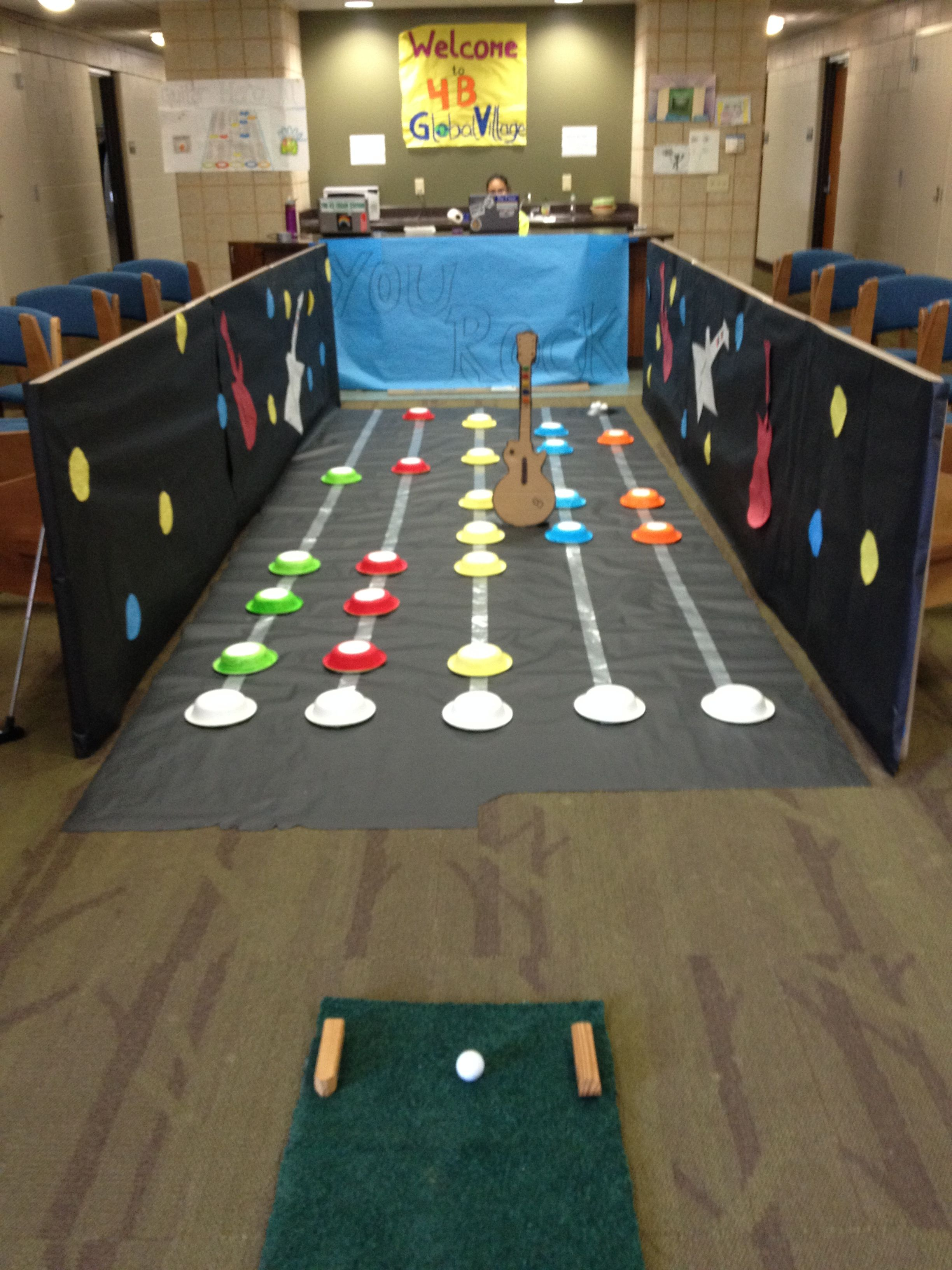 Eagle Invitational Mini Golf Program Each House Designs A