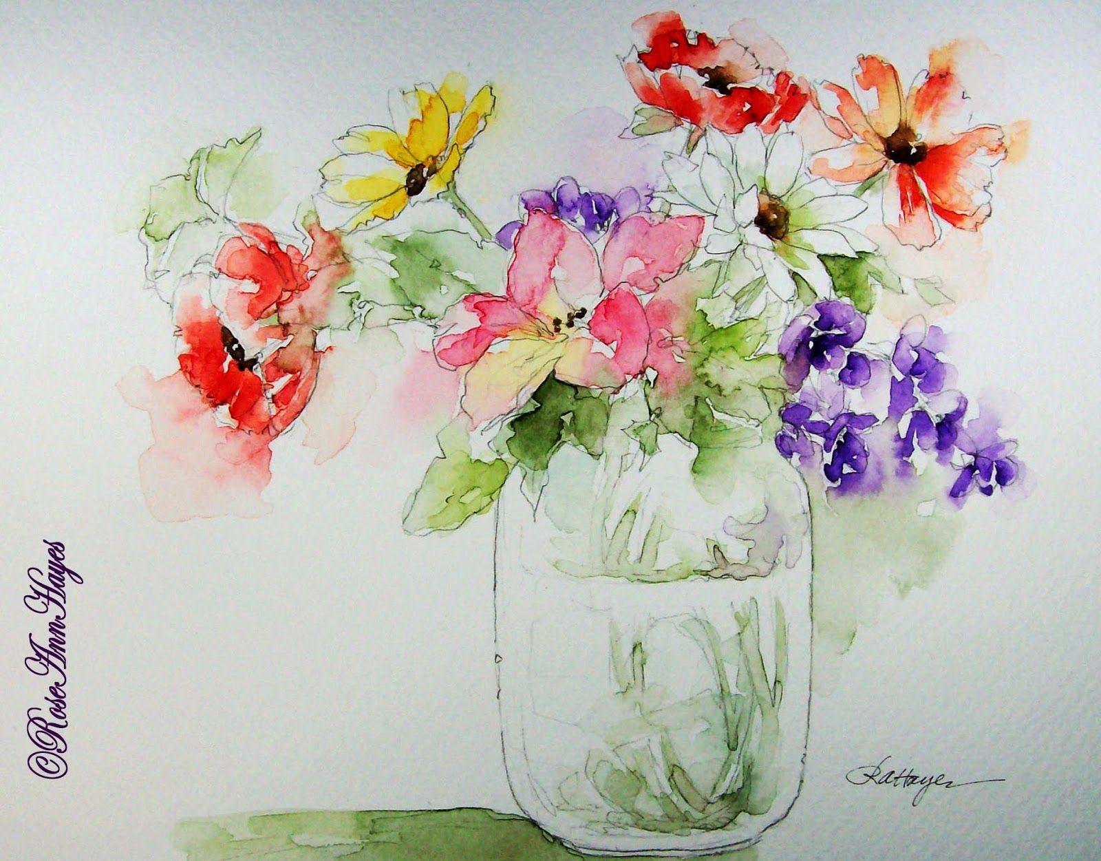 Watercolor Paintings by RoseAnn Hayes Watercolor Painting