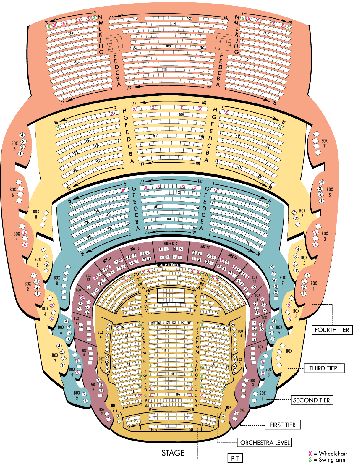 Select Your Seats