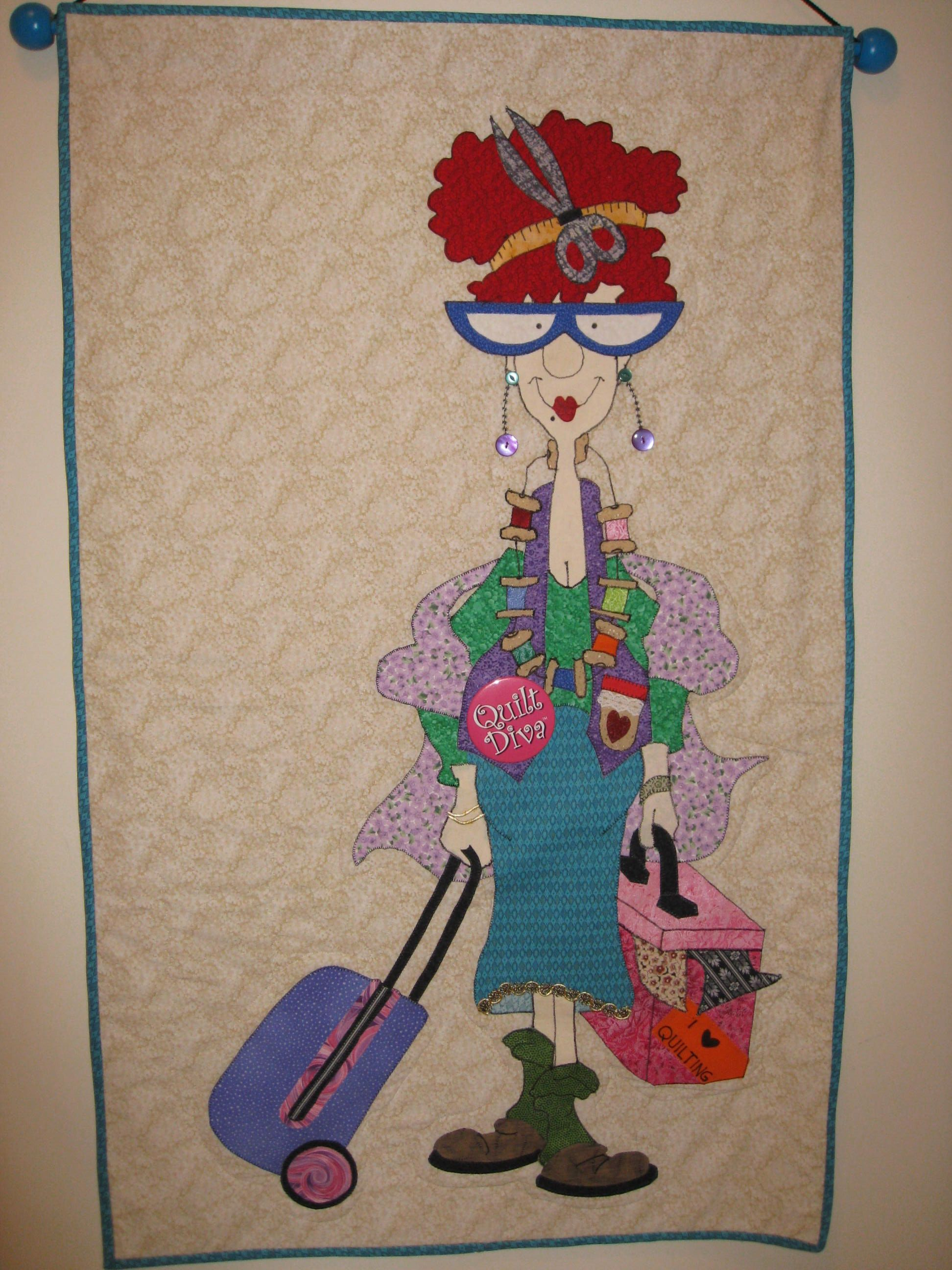 made from Amy Bradley Designs Quilt Diva pattern | quilts ... : amy bradley quilt patterns - Adamdwight.com
