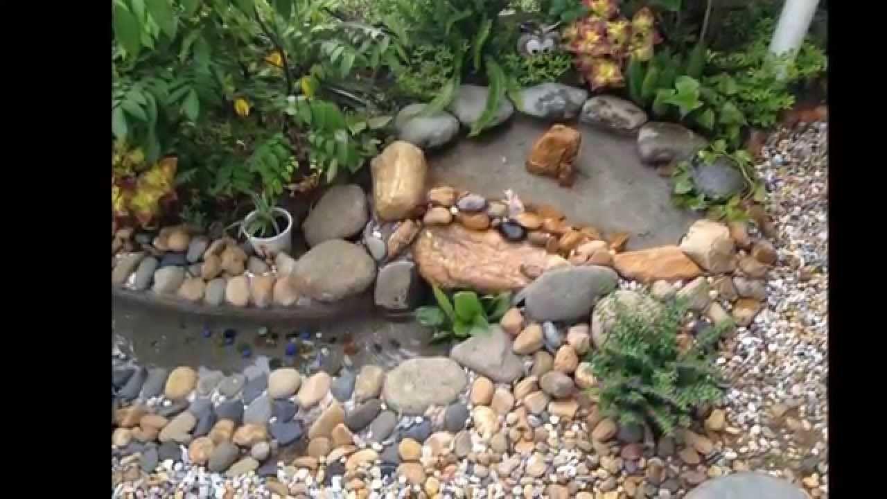 How To Build A Backyard Waterfall | Small waterfall ...