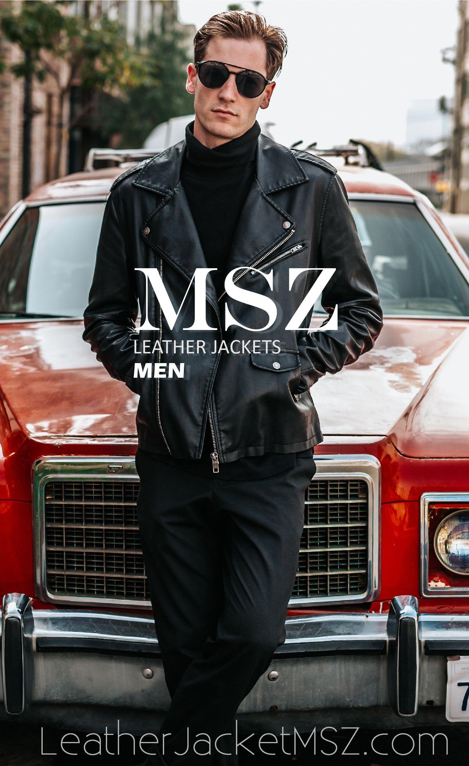 Leather Jacket For Men leatherjacketsformenbrown