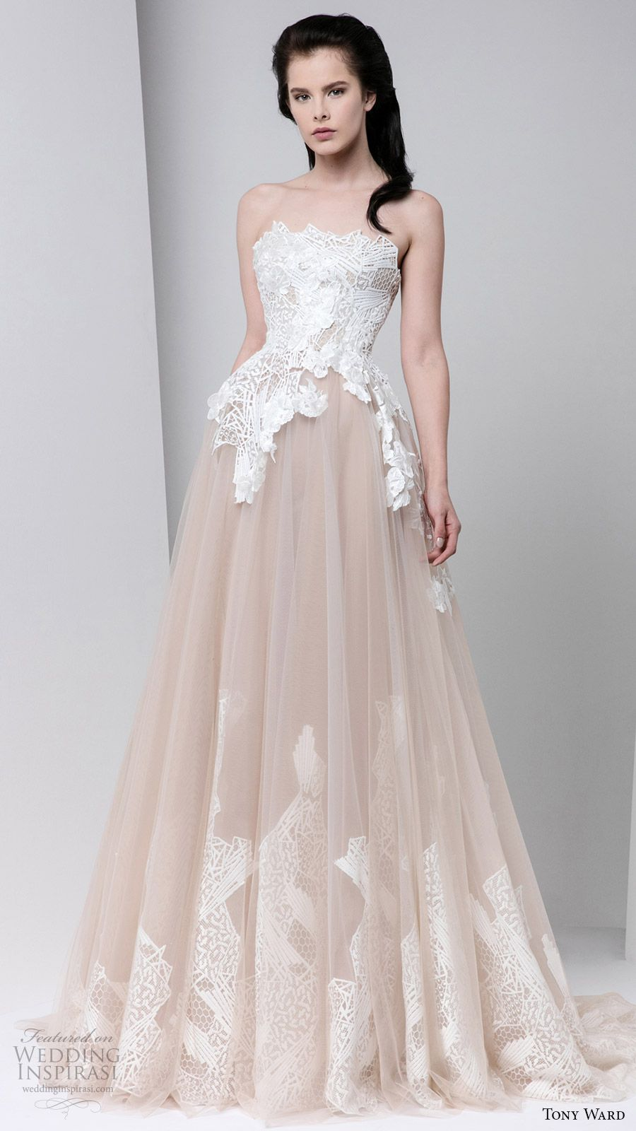 Tony ward fall readytowear dresses weddingdress pinterest