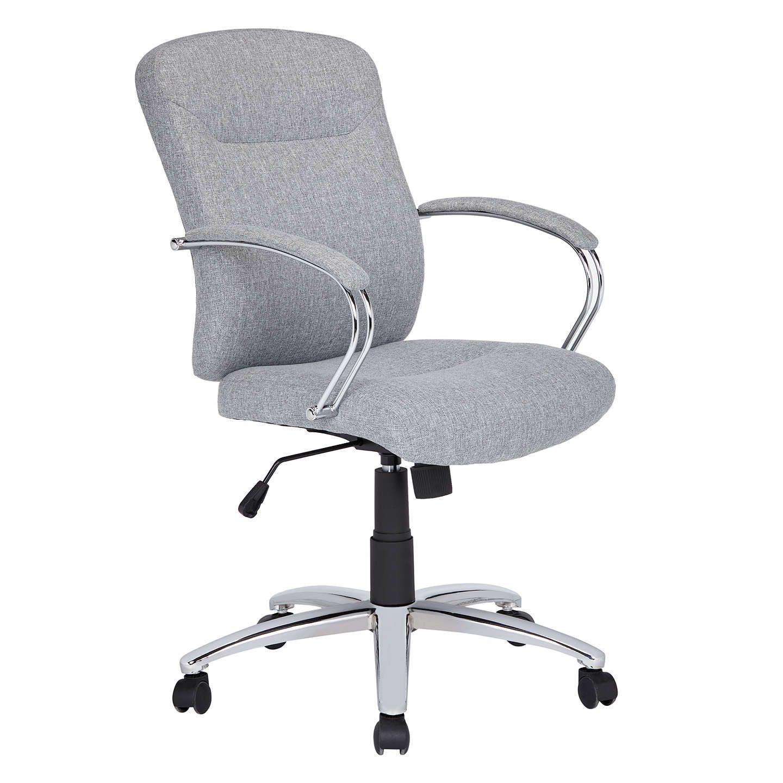 Buyjohn lewis warner fabric office chair grey online at johnlewis com