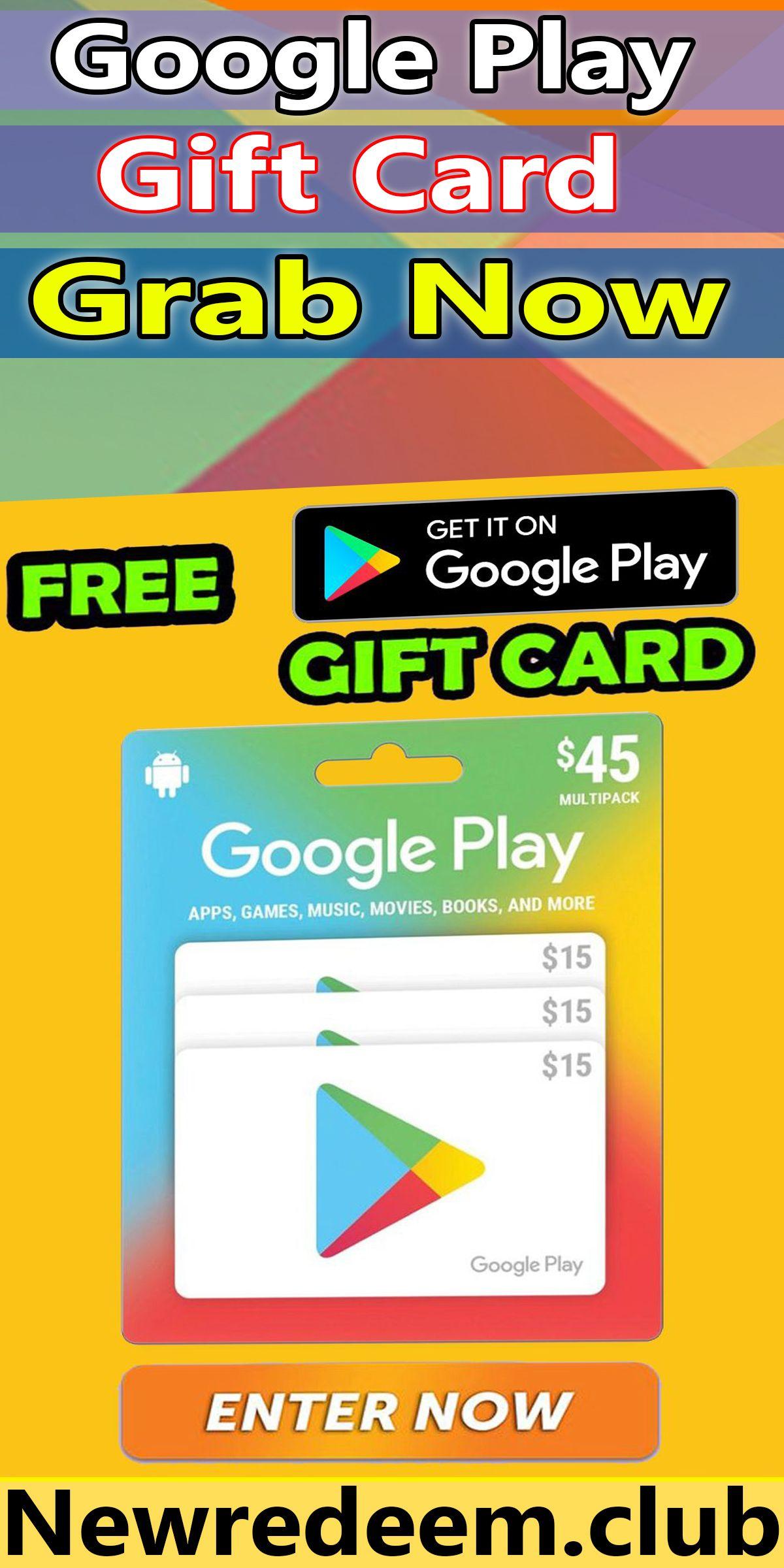 Free Google Play Gift Card Unused Codes Generator 2020 in