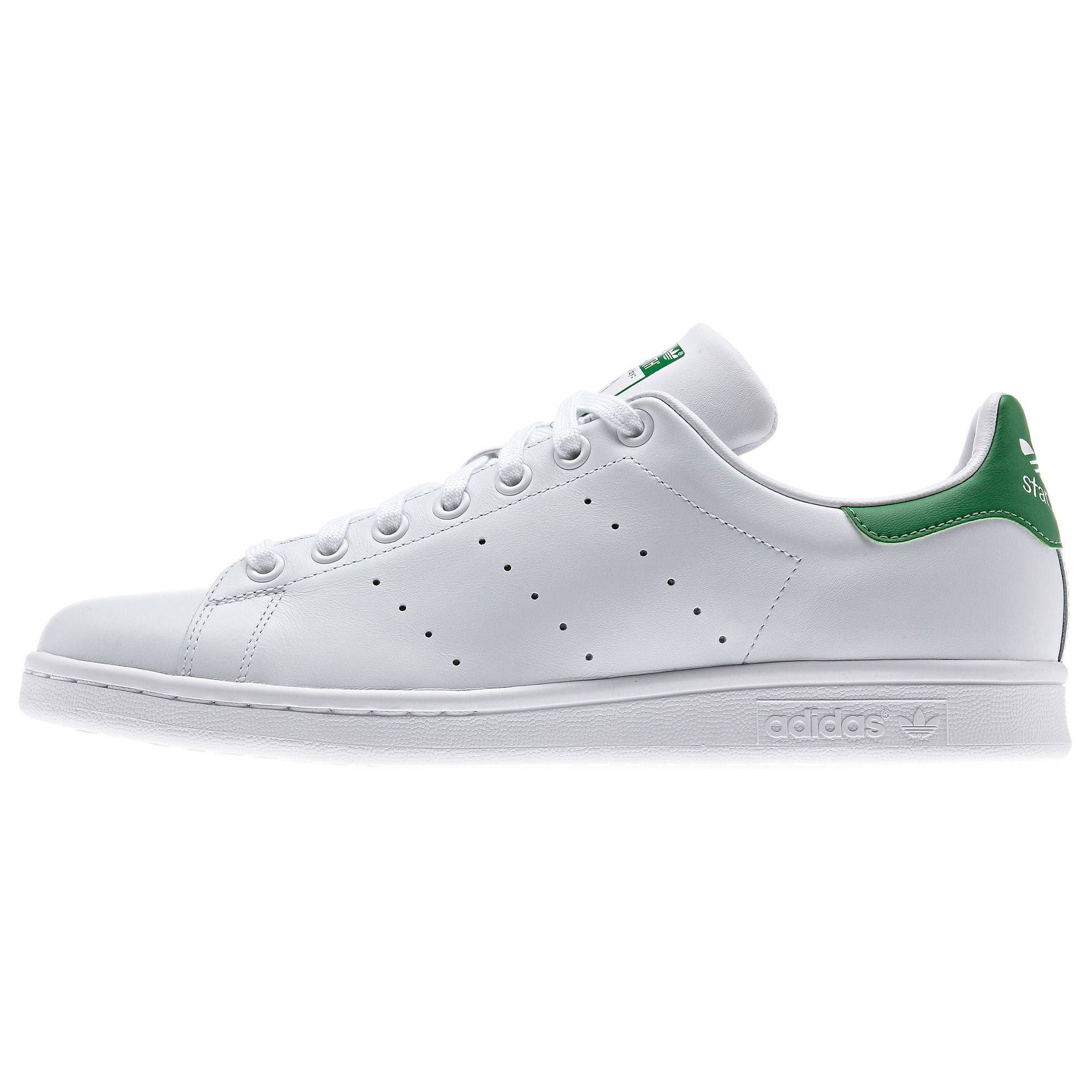 Clean and crisp Stan Smiths for spring. Feels right 5b5fc65c5