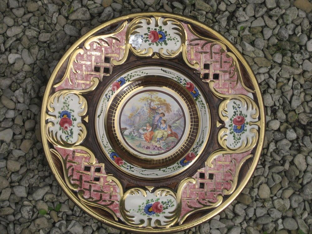 Hubert Bequet Plat Mural Decoratif En Ceramique Ceramique Mural Plat