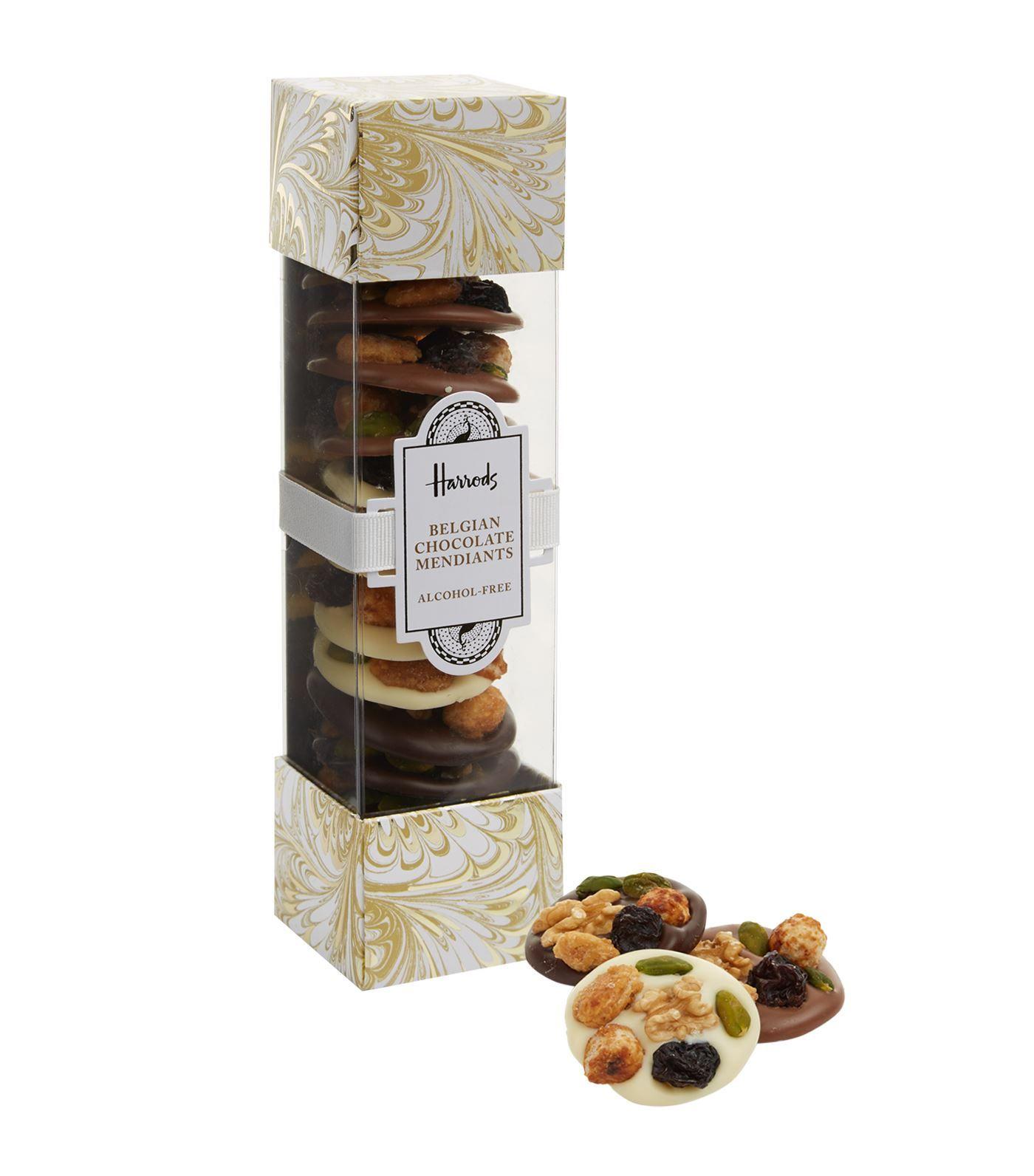 Alcohol Free Belgian Chocolate Mendiants 200g Belgian