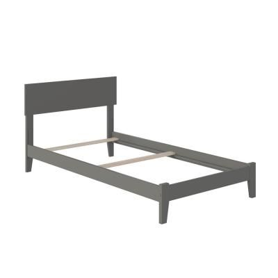 Atlantic Furniture Orlando Twin Xl Traditional Bed In Grey In 2020
