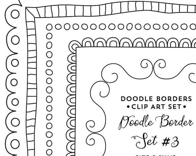 30 hand drawn corner clipart chalk and black scrapbook embellish invitation chalkboard blog. Black Bedroom Furniture Sets. Home Design Ideas