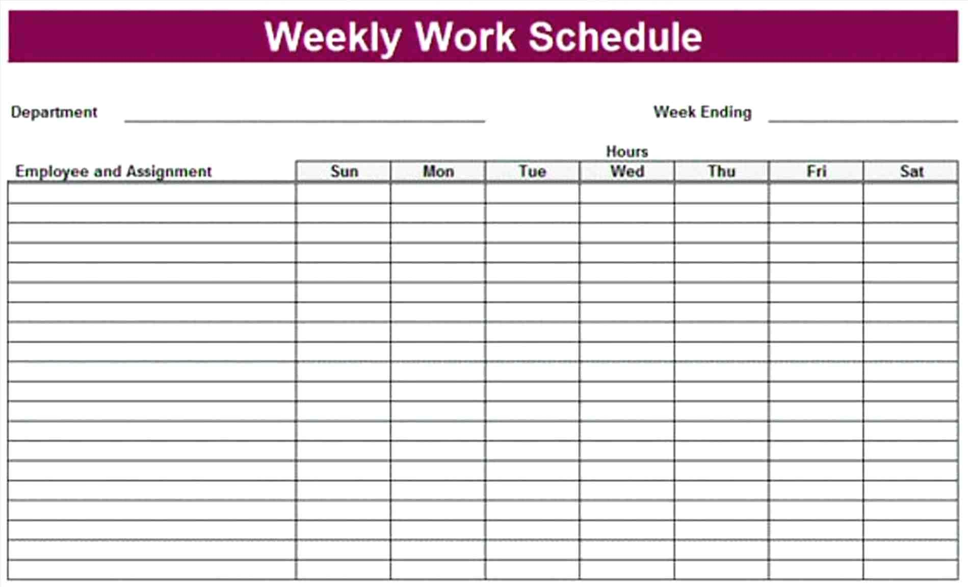 Sample Weekly Hourly Planner Template Word Daily Schedule Hourly Agenda Template S Daily Calendar Template Weekly Schedule Printable Monthly Schedule Template