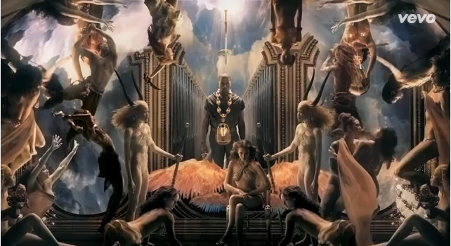 Kanye West Marco Brambilla Power 2 With Images Illuminati Kanye West Power Kanye West