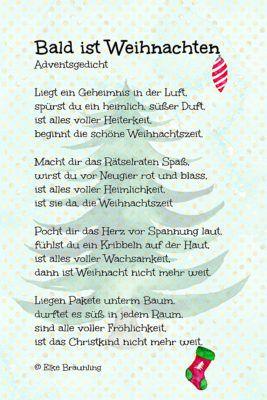 Gedicht baum weihnachten