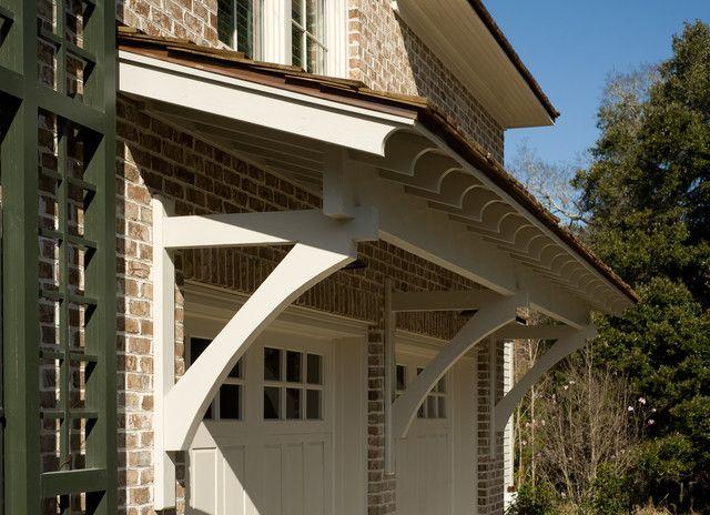 Overhang Door Overhang Traditional Exterior Modern Roofing