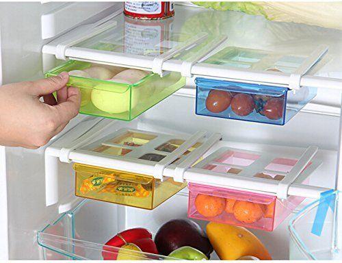 Kühlschrank Aufbewahrung : Highdas pcs küche kühlschrank kühlschrank aufbewahrung rack