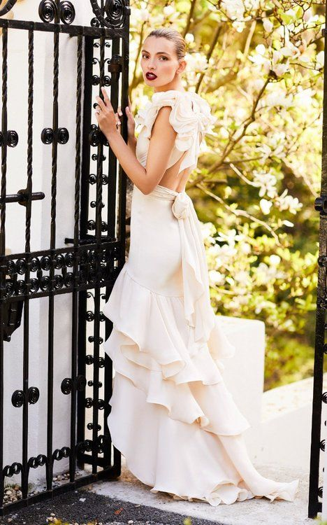 indescribably elegant: johanna ortiz's romantic bridal collection en