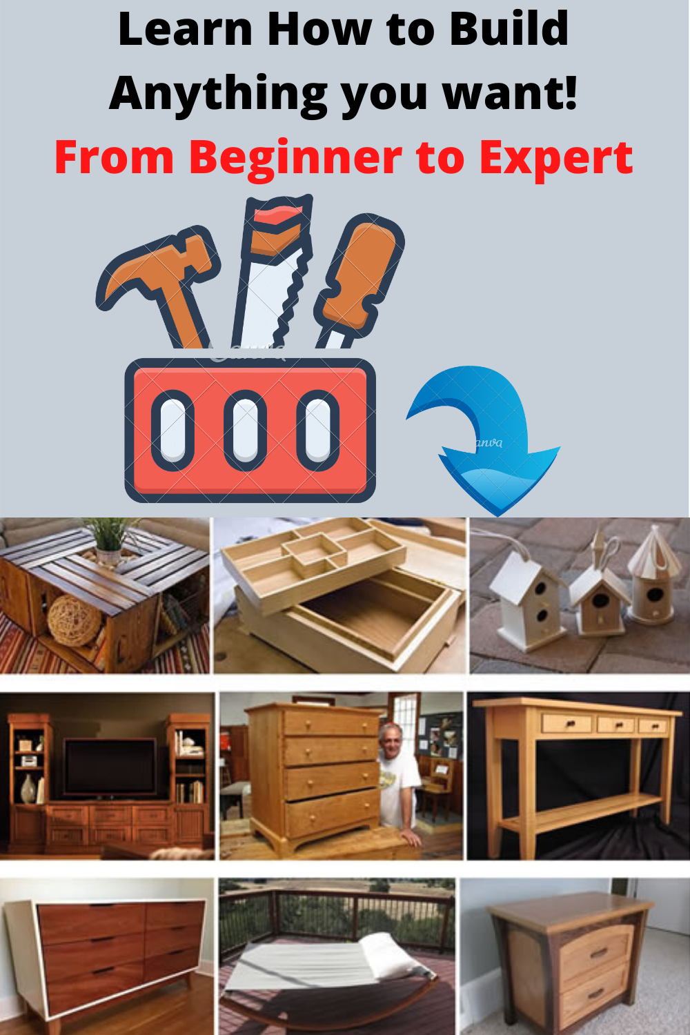 Whether you're an aspiring fine woodworker or you just enjoy watching a craftsman at work, we have you covered. #woodworkingtechniques #easywoodworkingprojects #diywoodworkingideas #diyfarmhousedecor