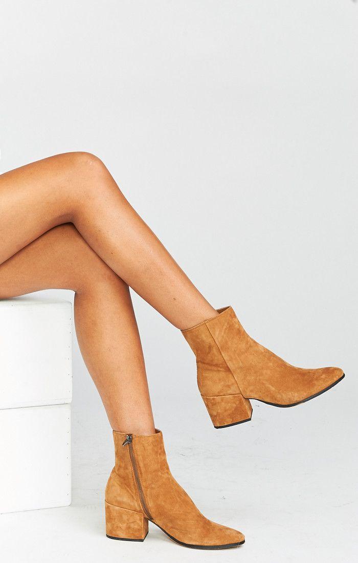 84c13c0312b Dolce Vita ~ Maude Booties ~ Cognac in 2019 | Accessories | Shoe ...