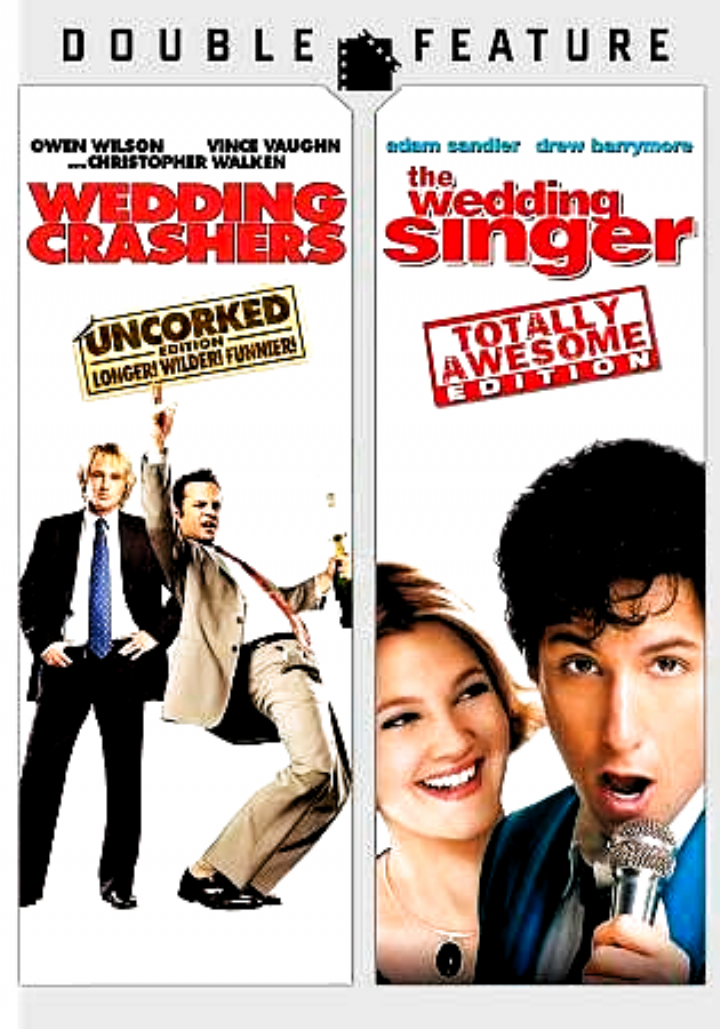 Wedding Crashers The Wedding Singer Dvd 2 Disc Set Double Feature Newlinecinema In 2020 The Wedding Singer Wedding Crashers Wedding