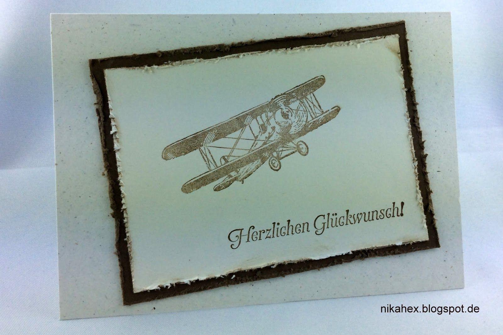 """Nikas Hexerei: Glückwunschkarte mit Sale-a-Bration Stempelset """"Hoch hinaus"""""""