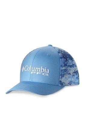 Columbia White CapDigi Print PFG Mesh Ball Cap 59e9341b33aa