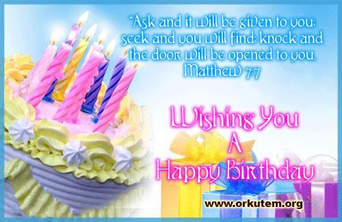 – Spiritual Birthday Card
