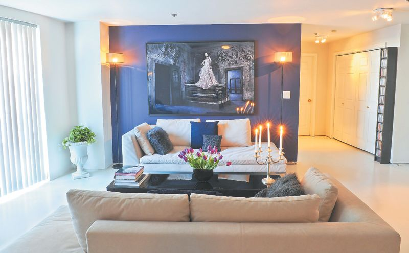 At Home with Gary Croteau: The salon star brings glam style to his West End living room