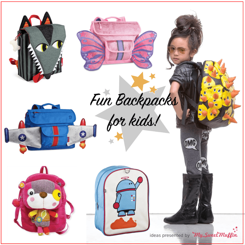 Get ready for Back to School! Fun backpacks for kids. | Back to ...