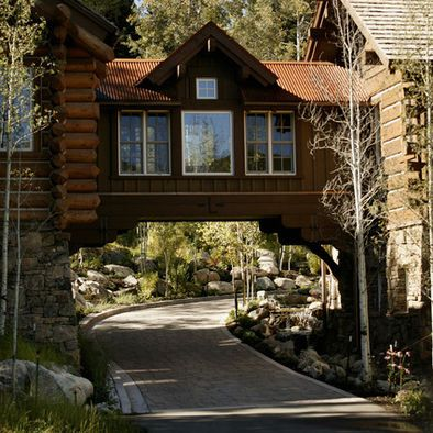 Spaces Craftsman Porte Cochere Design Pictures Remodel Decor And Custom Denver Remodel Exterior Decoration