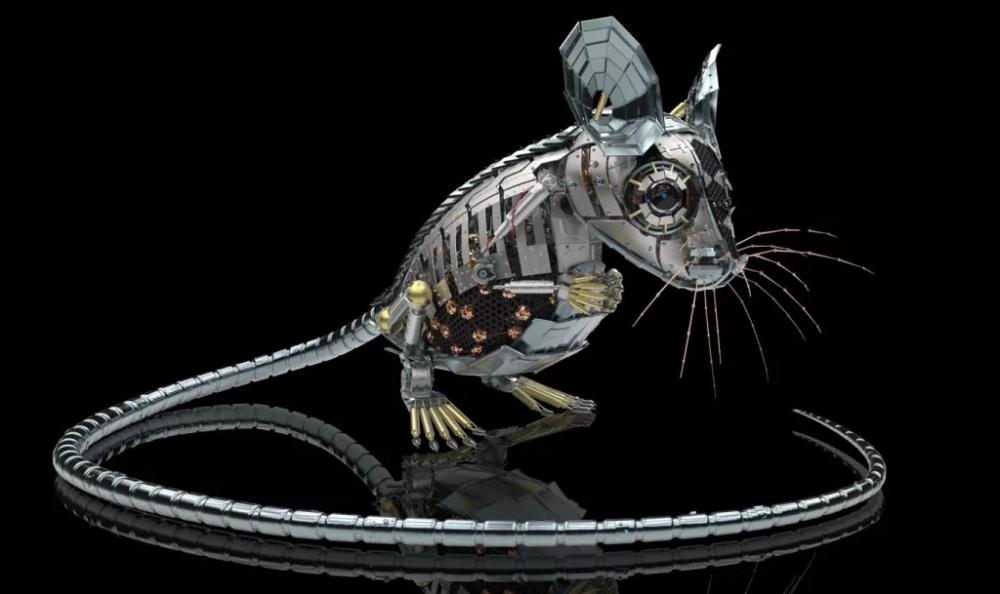 Картинки стальная мышь