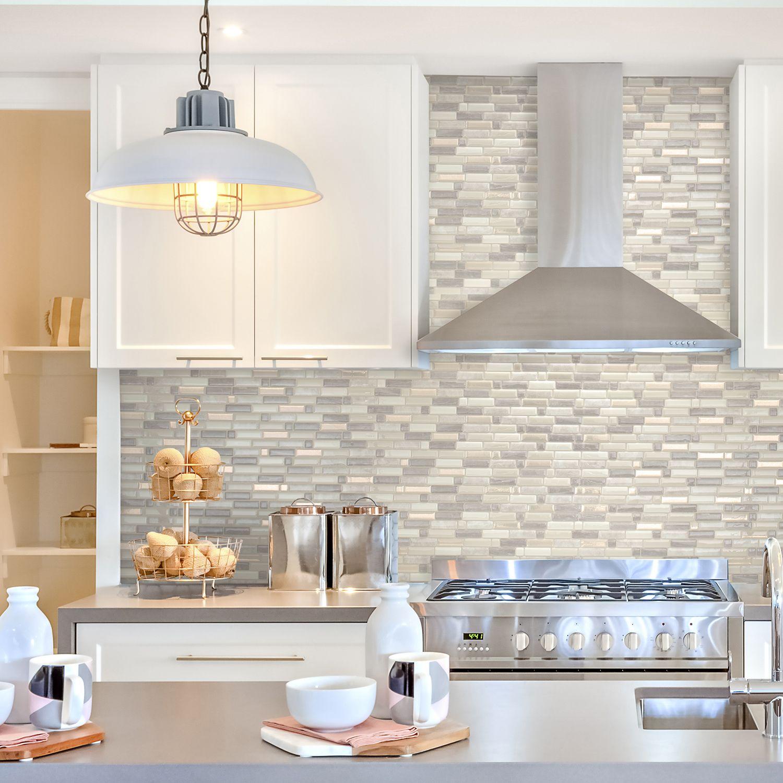 Pingl par smart tiles sur carrelage mural adh sif - Stickers pour carrelage mural cuisine ...
