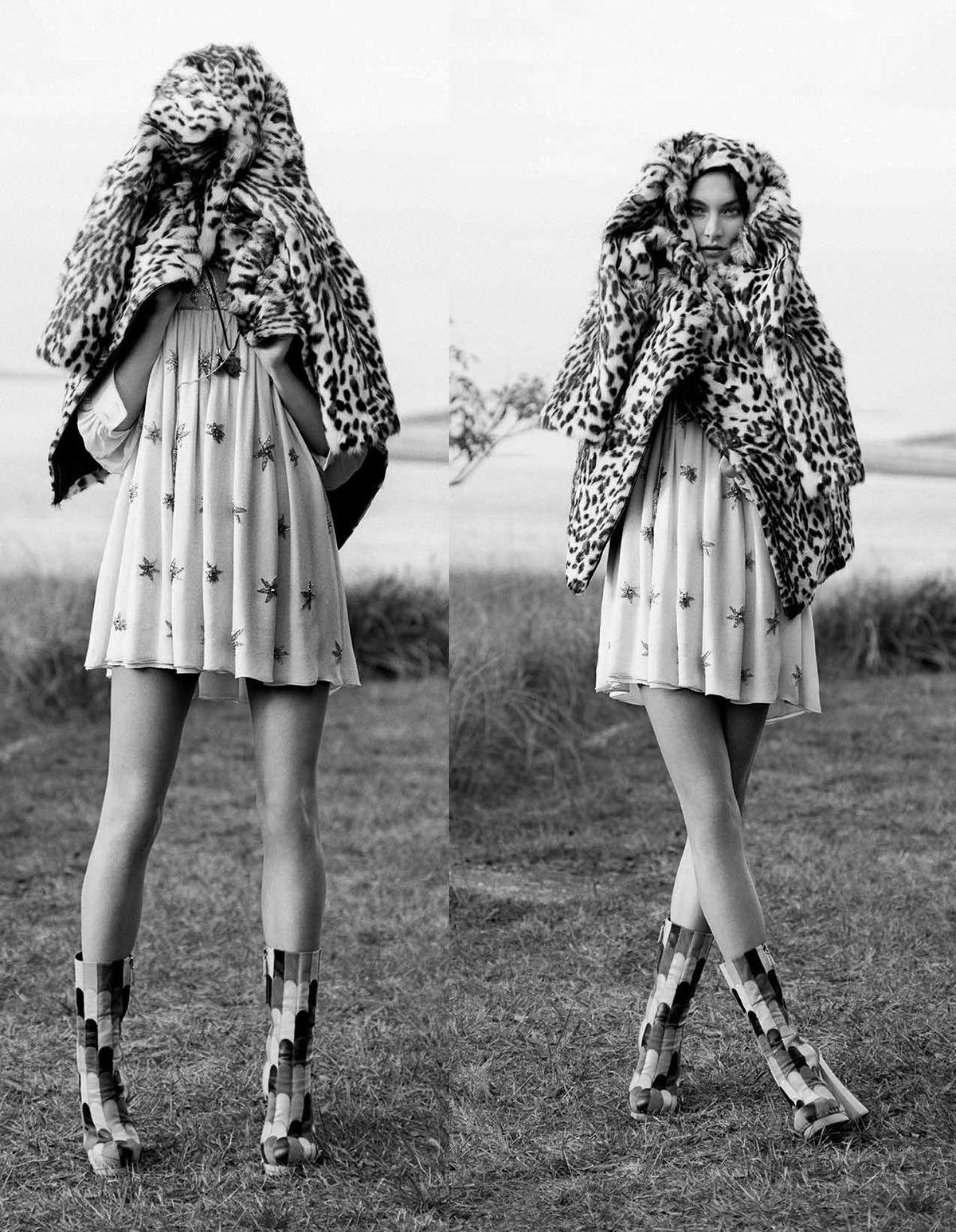 visual optimism; fashion editorials, shows, campaigns & more!: bohemian rhapsody: jacquelyn jablonski by matt jones for elle italia december 2014
