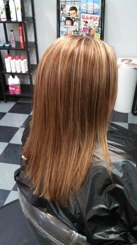 Copper Color With Highlights  HairNailsMakeup  Pinterest